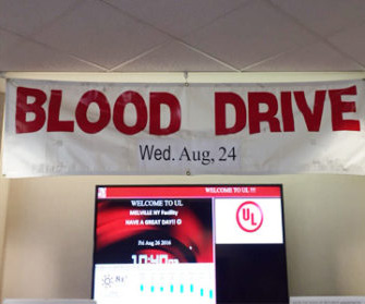 August Blood Drive - UL LLC