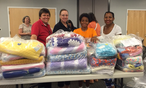 We Care Blankets - Donation to St Mary's Hospital for Children