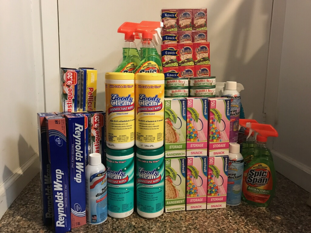 Supplies for Ronald McDonald House