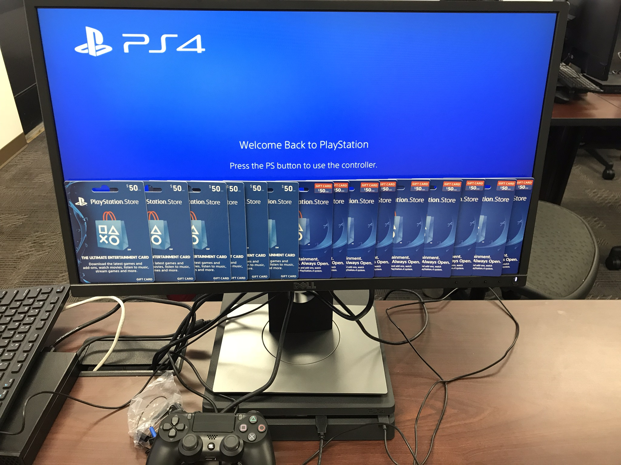 Delivery of 3 More PS4 Consoles to NYU Winthrop Hospital